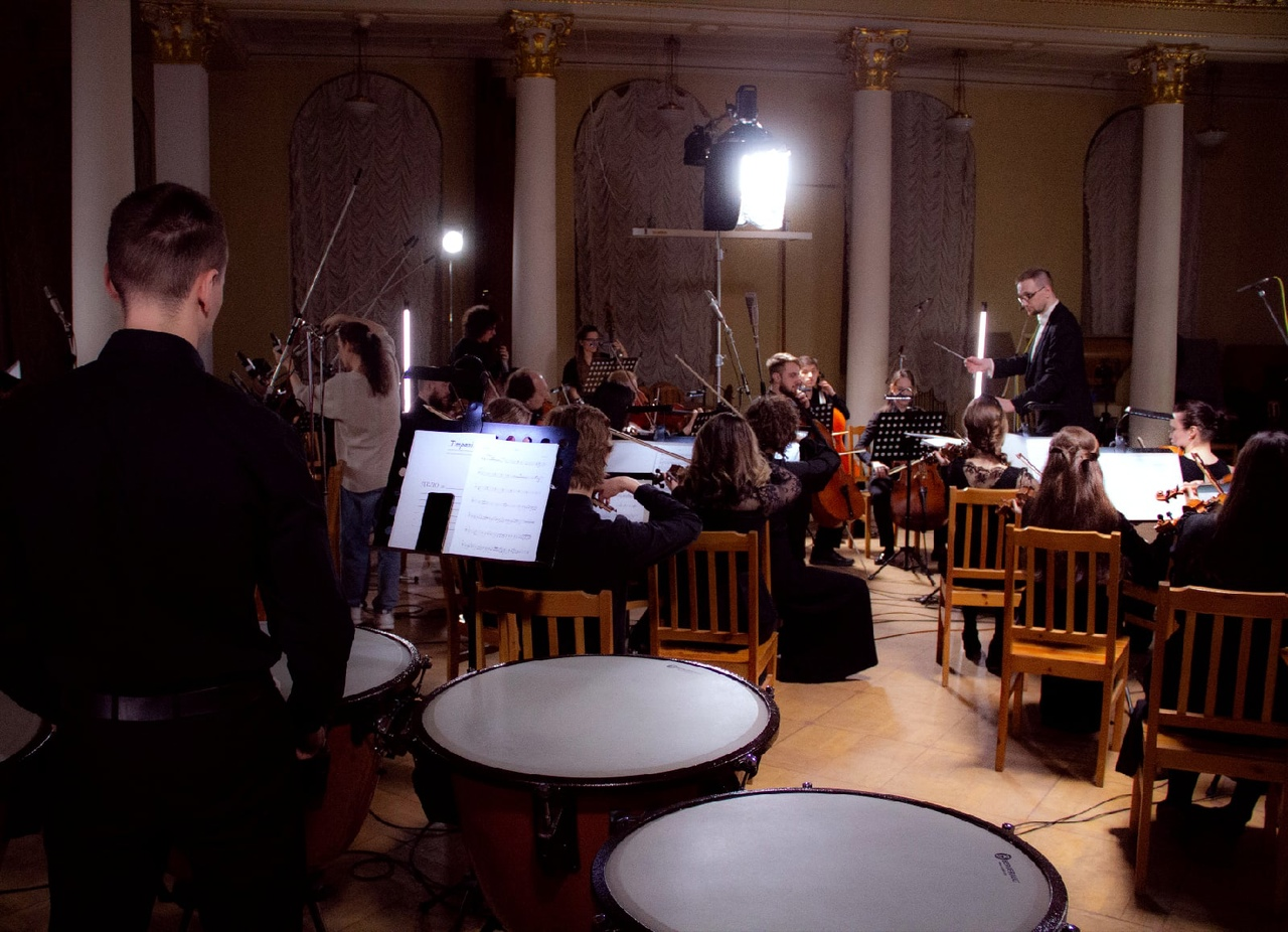 Концерт Санкт-Петербургского оркестра