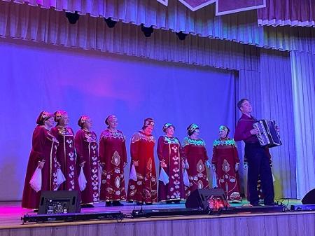 Концерт Народного хора ветеранов.